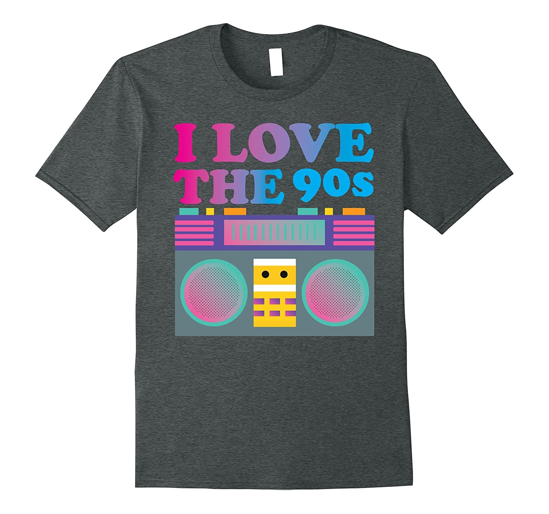 1637a8b95458 I Love the 90s T-Shirt - Nineties Retro Gift-FL - Sunflowershirt