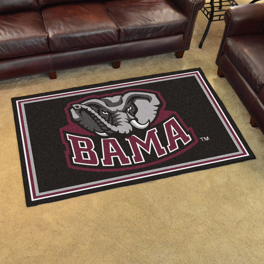 Amazon.com: Alabama Crimson Tide NCAA Floor Rug (4