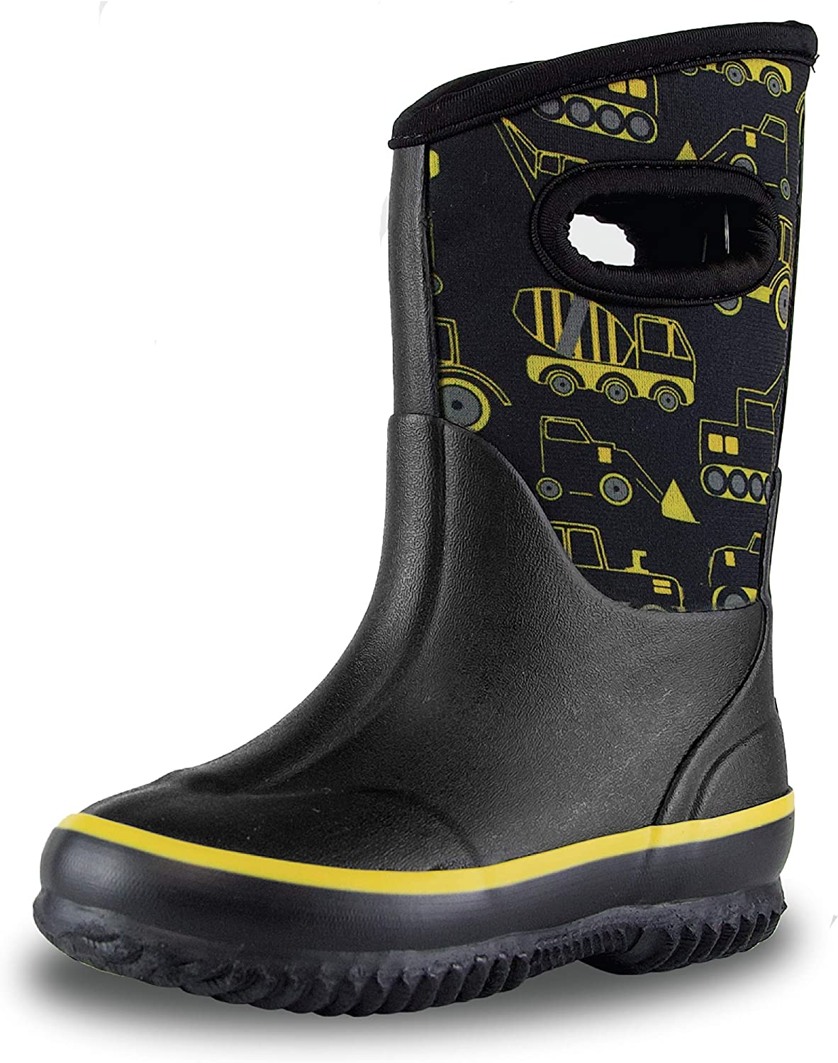 LONECONE Insulating All Weather MudBoots for Toddlers and Kids - Warm Neoprene Boots for Snow, Rain, and Muck