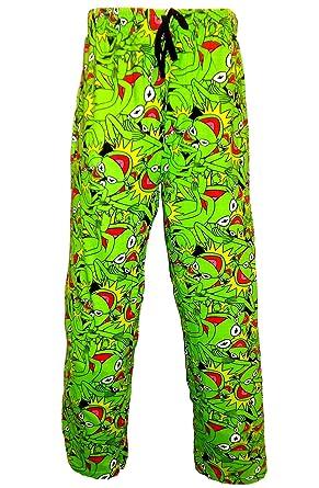 Mens DISNET The Muppets Kermit Novelty Pyjamas Lounge Pants Bottoms Pants  Trousers - Size S-XL  Amazon.co.uk  Clothing 503205f81