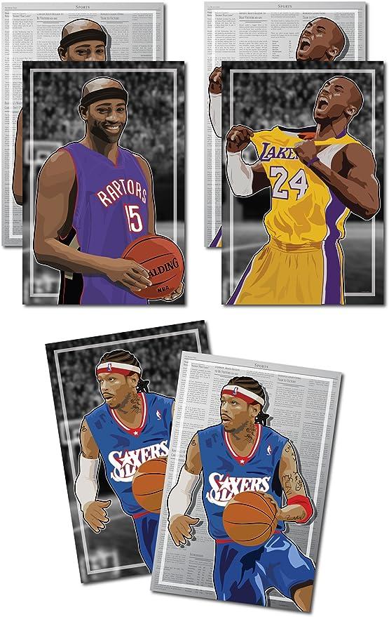Allen Iverson Basketball Silk Poster 12x18 24x36 inch