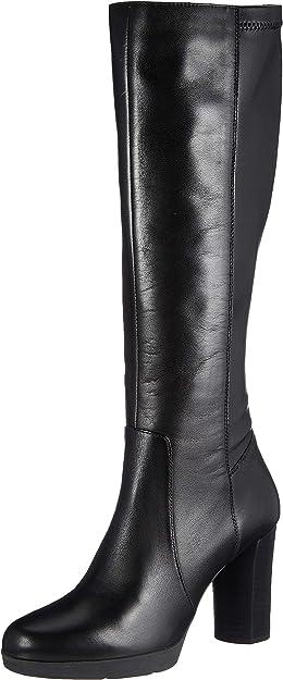 TALLA 35 EU. Geox D Anylla High F, Knee Boot Mujer