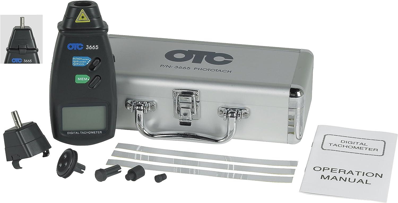 OTC 3665 Phototach Contact//Non-Contact Tachometer