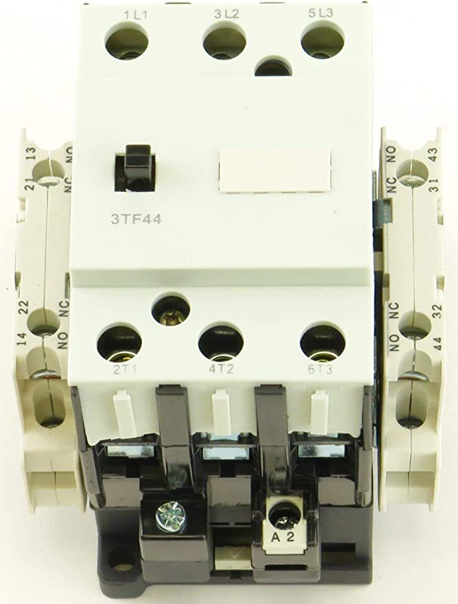 YC-3TF4422-24V 3 Phase Contactor 10 HP at 230V 25 HP at 460V 24V Coil Direct Replacement for Siemens 3TF4422-0AC2