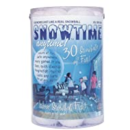 30 Pack Indoor Snowball Fight - Snowtime Anytime - Safe, No Mess, No Slush