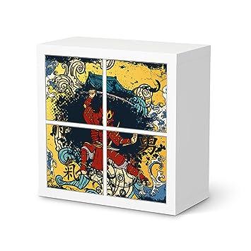 Your Design IKEA Expedit étagère 4 Portes Design Japonais 5 Artwork ...