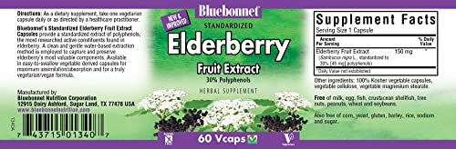 BlueBonnet Elderberry Fruit Extract Supplement