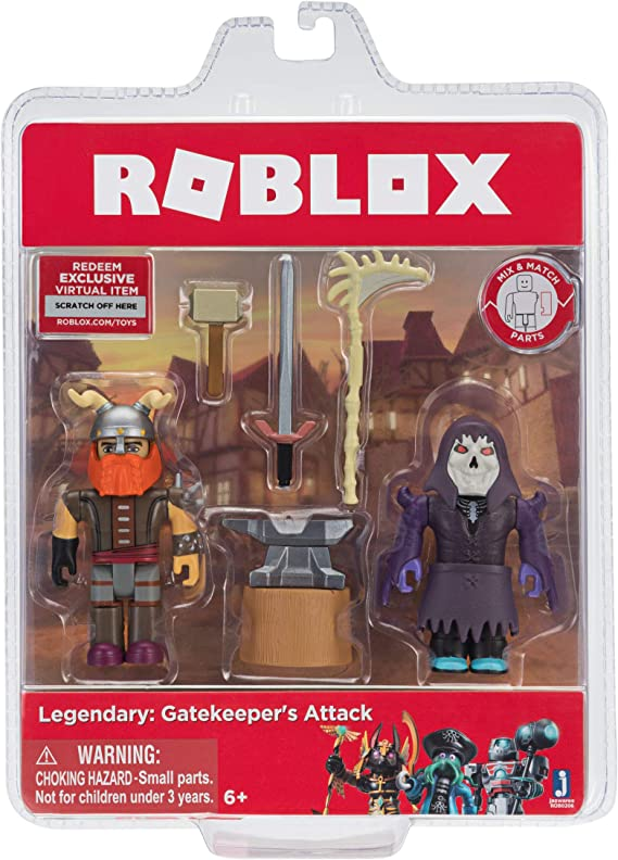 Roblox The Legendary Guide To Building And Designing Epic Games Amazon Com Roblox Action Collection Legendary Gatekeeper S Attack Game Pack Includes Exclusive Virtual Item Toys Games