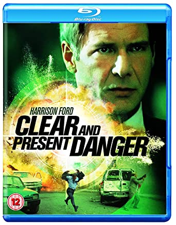 Amazon Com Clear And Present Danger Blu Ray 1994 Region Free Movies Tv