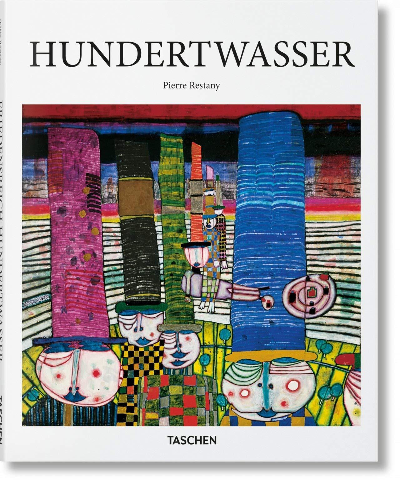 Hundertwasser (Basic Art) por Pierre Restany