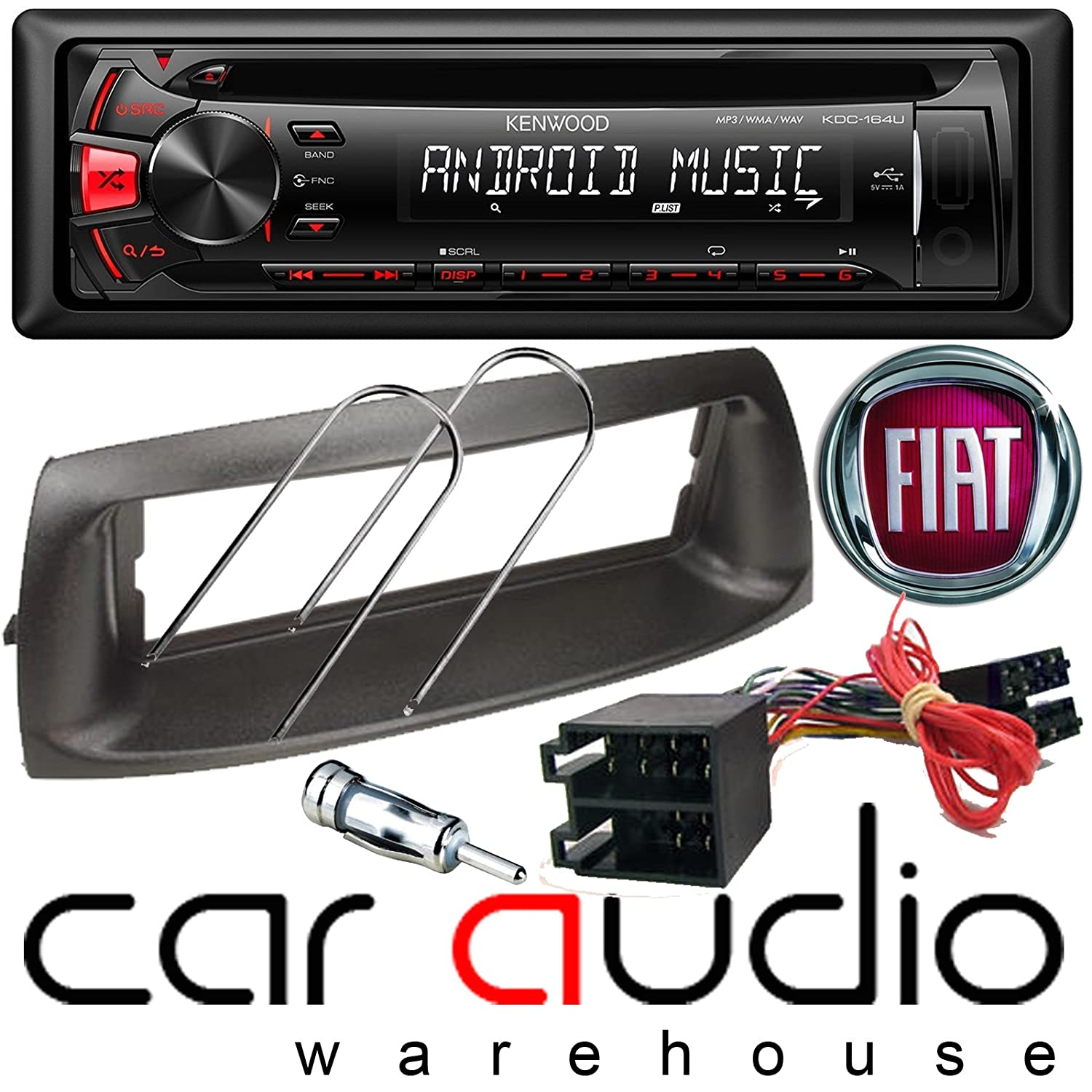 Fiat Punto Complete Stereo Fitting Kit To Allow The Grande Fuse Box Removal Electronics