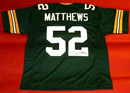 new concept e1c50 70fff Clay Matthews Signed Jersey - JSA Certified - Autographed ...