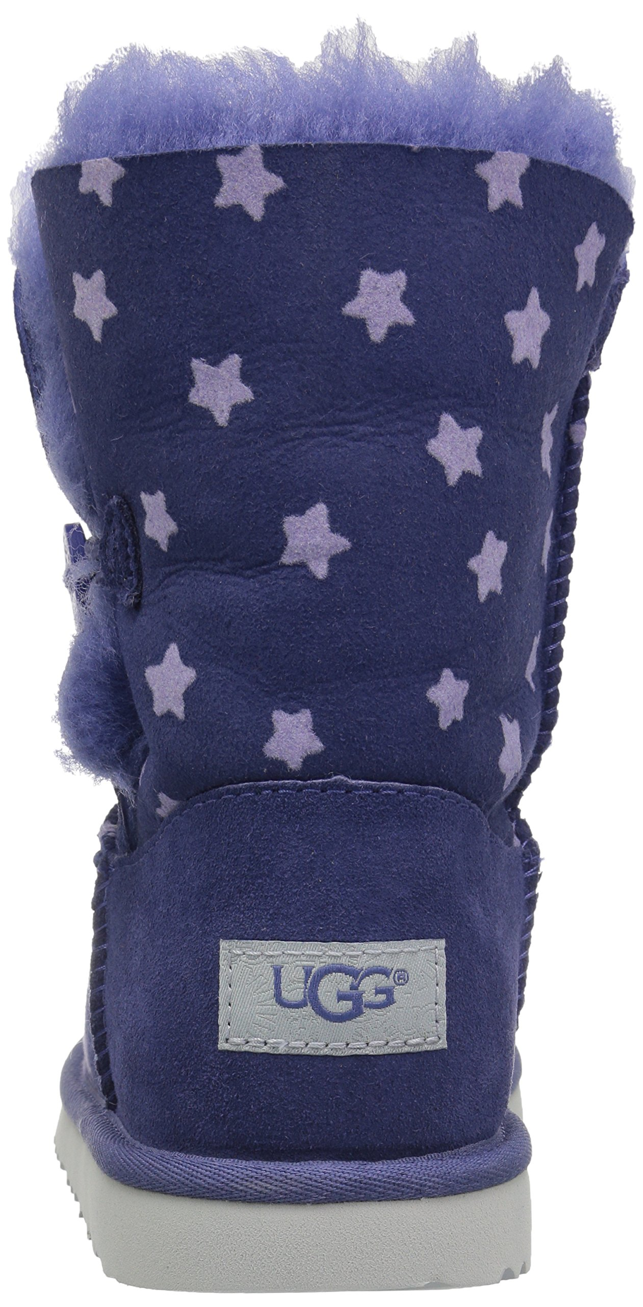 UGG Girls K Bailey Button II Stars Pull-On Boot, Nocturn, 1 M US Little Kid by UGG (Image #2)