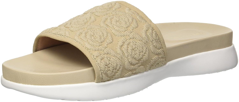 Taryn Rose Women's Iris Knit Slide Sandal B075MPPW3K 5.5 M M US|Ceramic