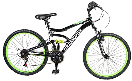 921c278c65f Image Unavailable. Image not available for. Colour: Muddyfox Boy Delta Dual  Suspension 18 Speed Mountain ...