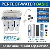 Osmoseanlage 600 GPD Ultimate Plus PRO Basic Edition 2019 Direct Flow kein Tank nötig Umkehrosmosewasserfilter Wasserfilter Trinkwasser Umkehrosmose Reverse Osmosis
