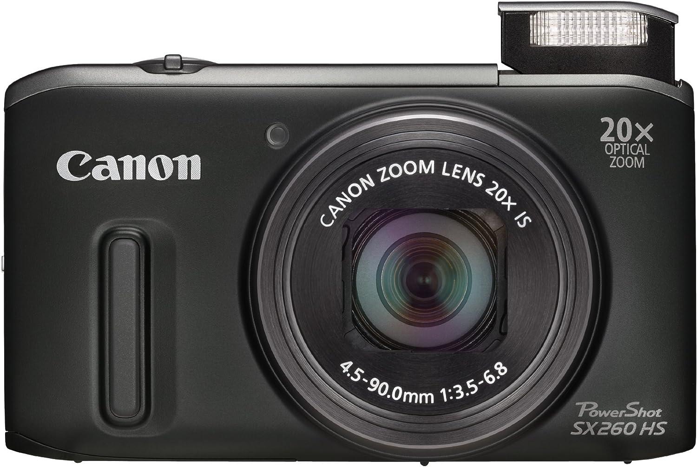 Canon PowerShot SX260 HS - Cámara compacta de 12.1 MP (Pantalla de ...