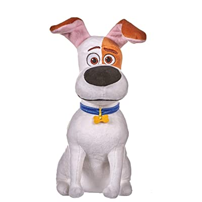 "Secret Life Of Pets 2 Official 12"" Sitting Max The Dog Soft Plush Toy: Toys & Games"