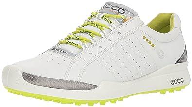 Amazon Com Ecco Women S Biom Hybrid Sport Golf Shoe White Lime