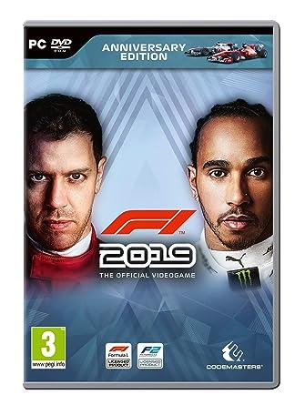 F1 2019 - Anniversary Edition PC DVD: Amazon co uk: PC