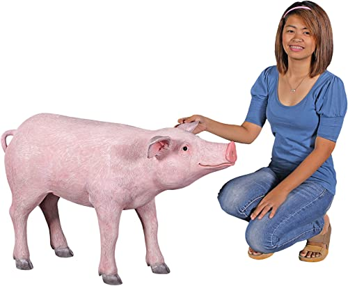 Design Toscano The Pig Life Size Hog Statue