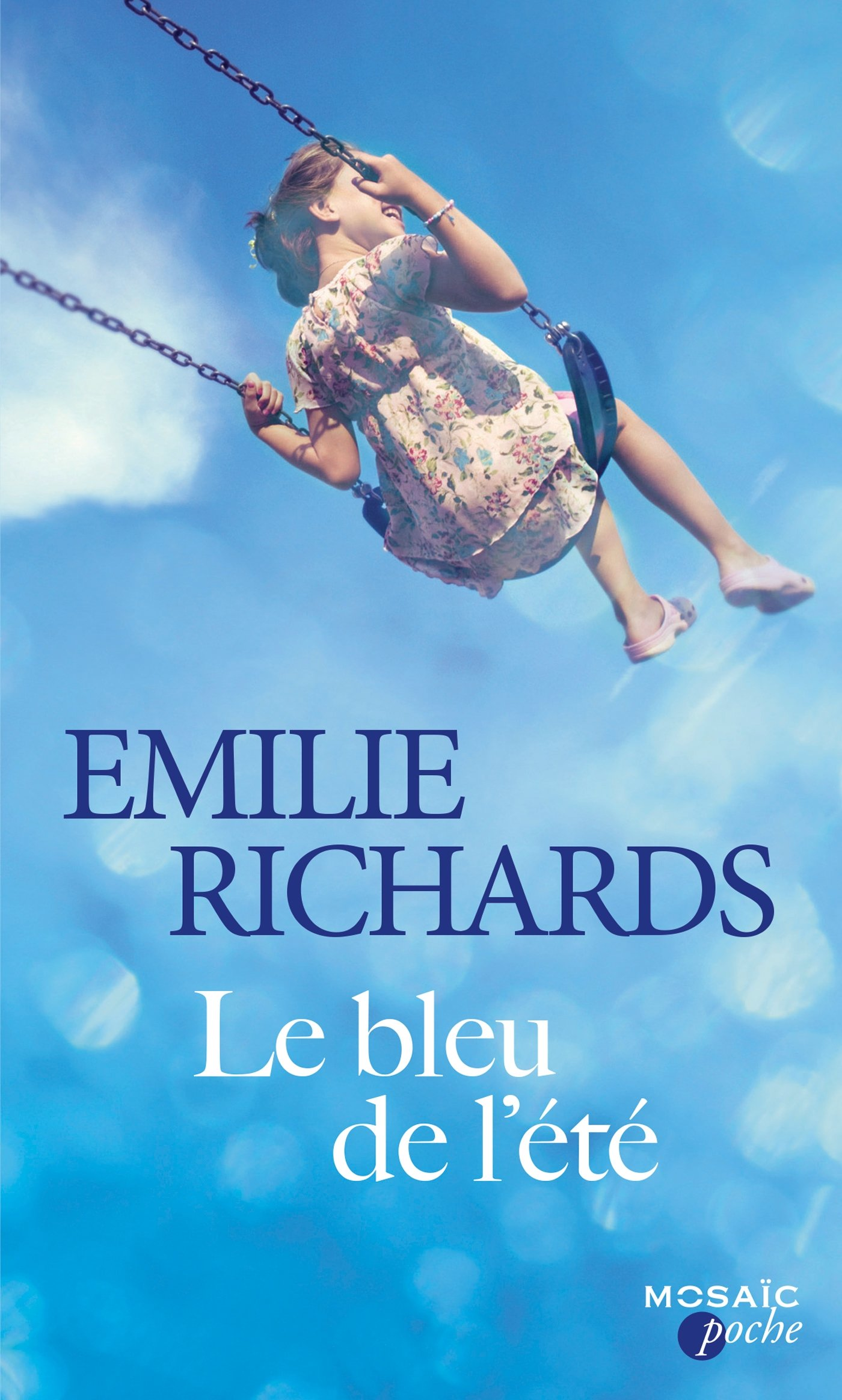 Le bleu de lété (Mosaïc Poche): Amazon.es: Richards, Emilie ...