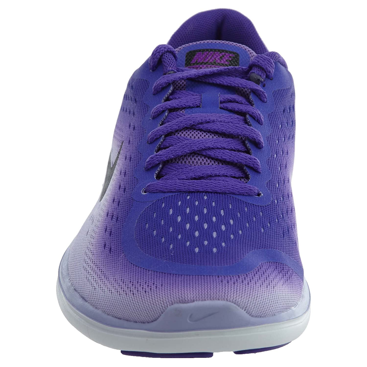 85fc9d0c0f Nike Girl's Flex RN 2017 (GS) Kids Shoe Hyper Grape/Black/Purple Agate Size  5. 5 M US: Amazon.in: Shoes & Handbags