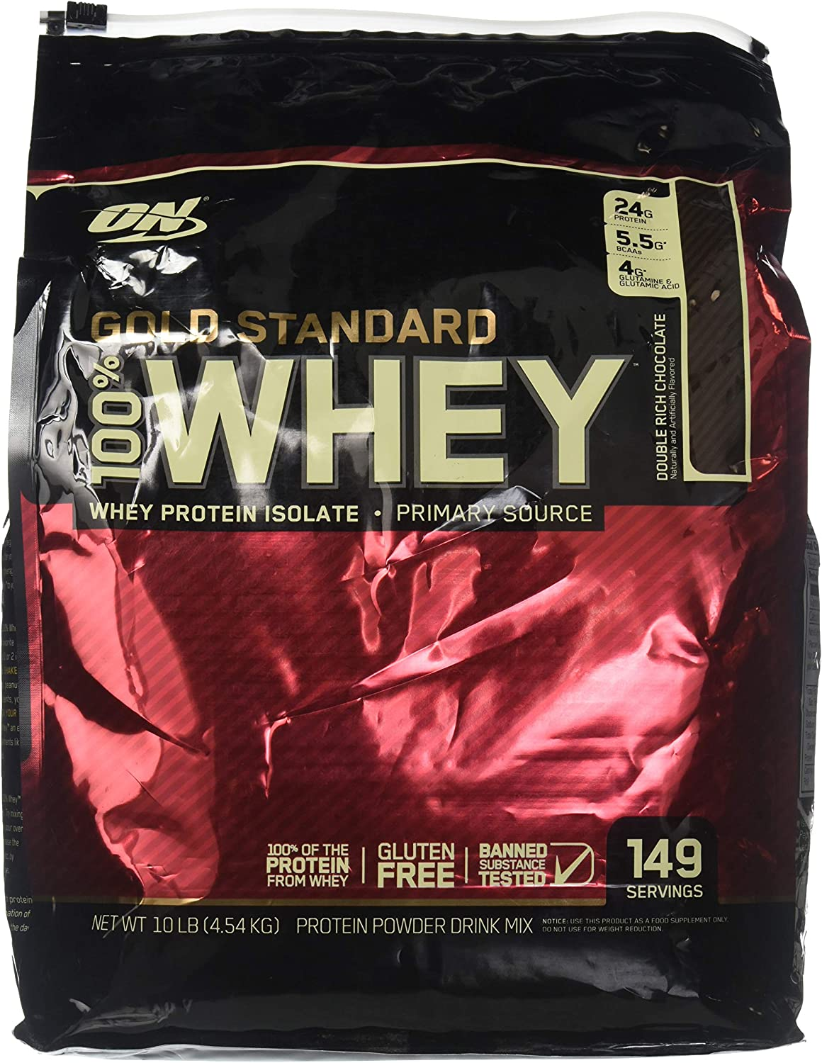Optimum Nutrition Gold Standard 100 Whey Double Rich Chocolate
