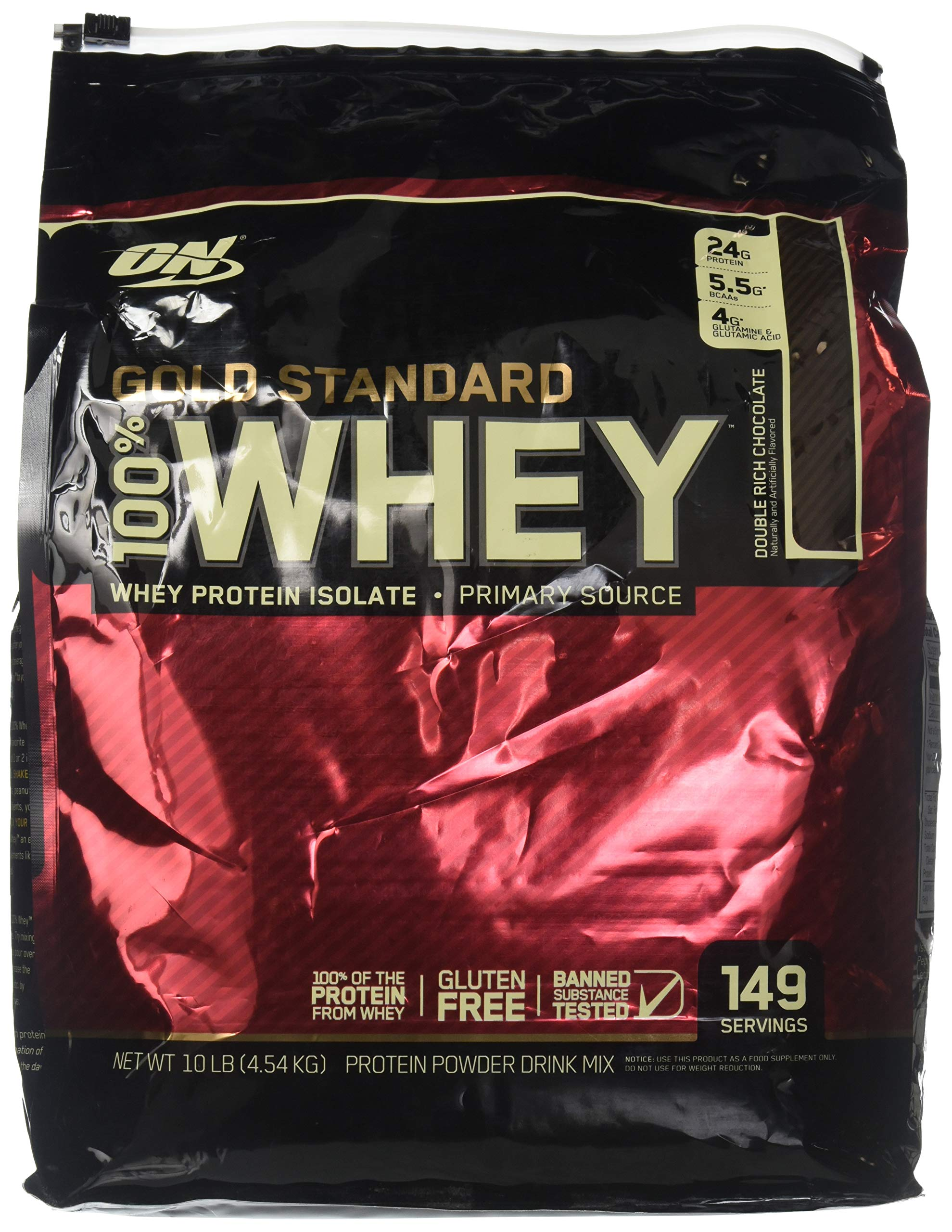 Optimum Nutrition Gold Standard 100 Whey Double Rich Chocolate by Optimum Nutrition