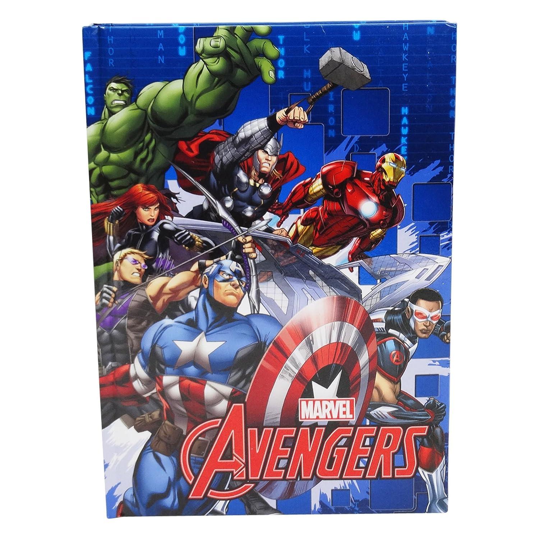 DC Comics The Avengers Diario Standard Escolar Diario 10 ...