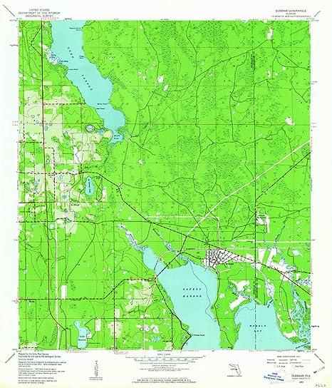 Amazon.com : YellowMaps Oldsmar FL topo map, 1:24000 Scale ...