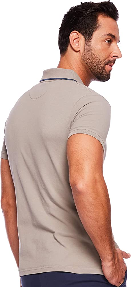 Timberland SS Millers River GD Pique Polo Slim, Gris (Elephant ...