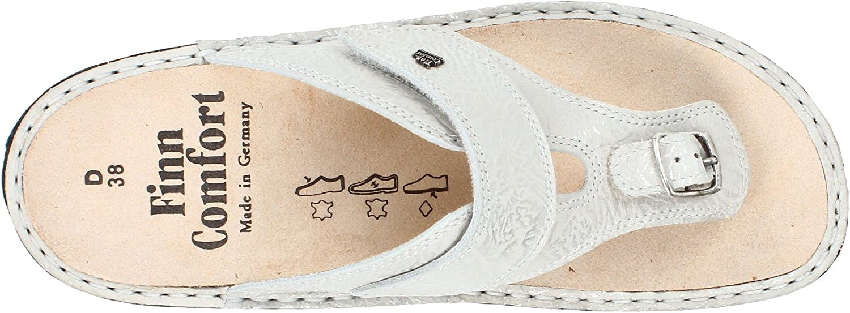 Finn Comfort Women's Phuket 2533 Sandal B005LBWNS0 36 Malibu EU (5.5-6 M US)|Whitesilver Malibu 36 7e4448