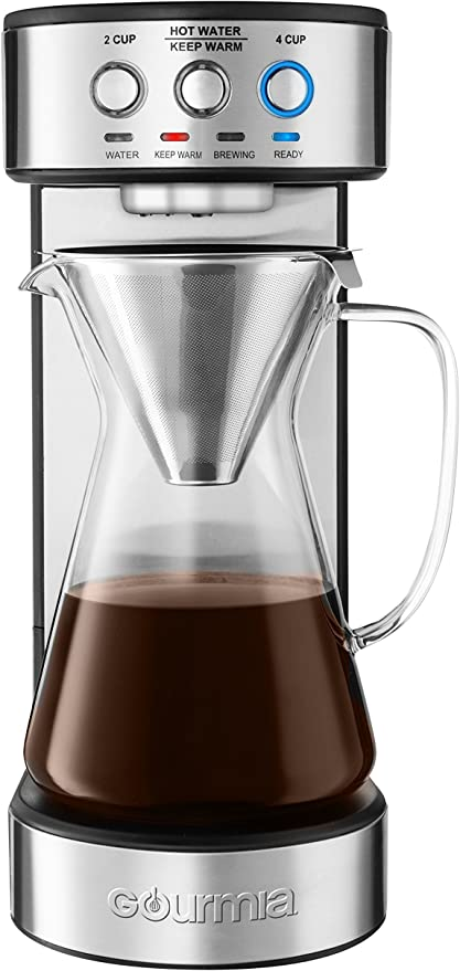 Amazon.com: Gourmia GCM4900 Cafetera automática para café ...