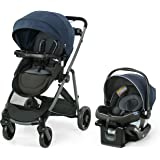 Graco Modes Element LX Travel System   Includes Baby Stroller with Reversible Seat, Extra Storage, Child Tray, One Hand Fold