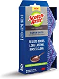 Scotch-Brite Dots Advanced Non-Scratch Scrubbers, 2 Scrub Sponges