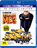 Despicable Me 3 [Special Edition] (Blu-ray 3D + Blu-ray + Digital)