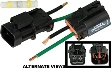81tRhk3b5BL._SX355_ amazon com apdty 139971 wire wiring harness pigtail connector how to repair wire harness connector at gsmx.co