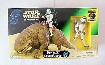 Kenner Star Wars Power of The Force Beast Pack - Figuras de acción de Sandtrooper: Amazon.es: Juguetes y juegos