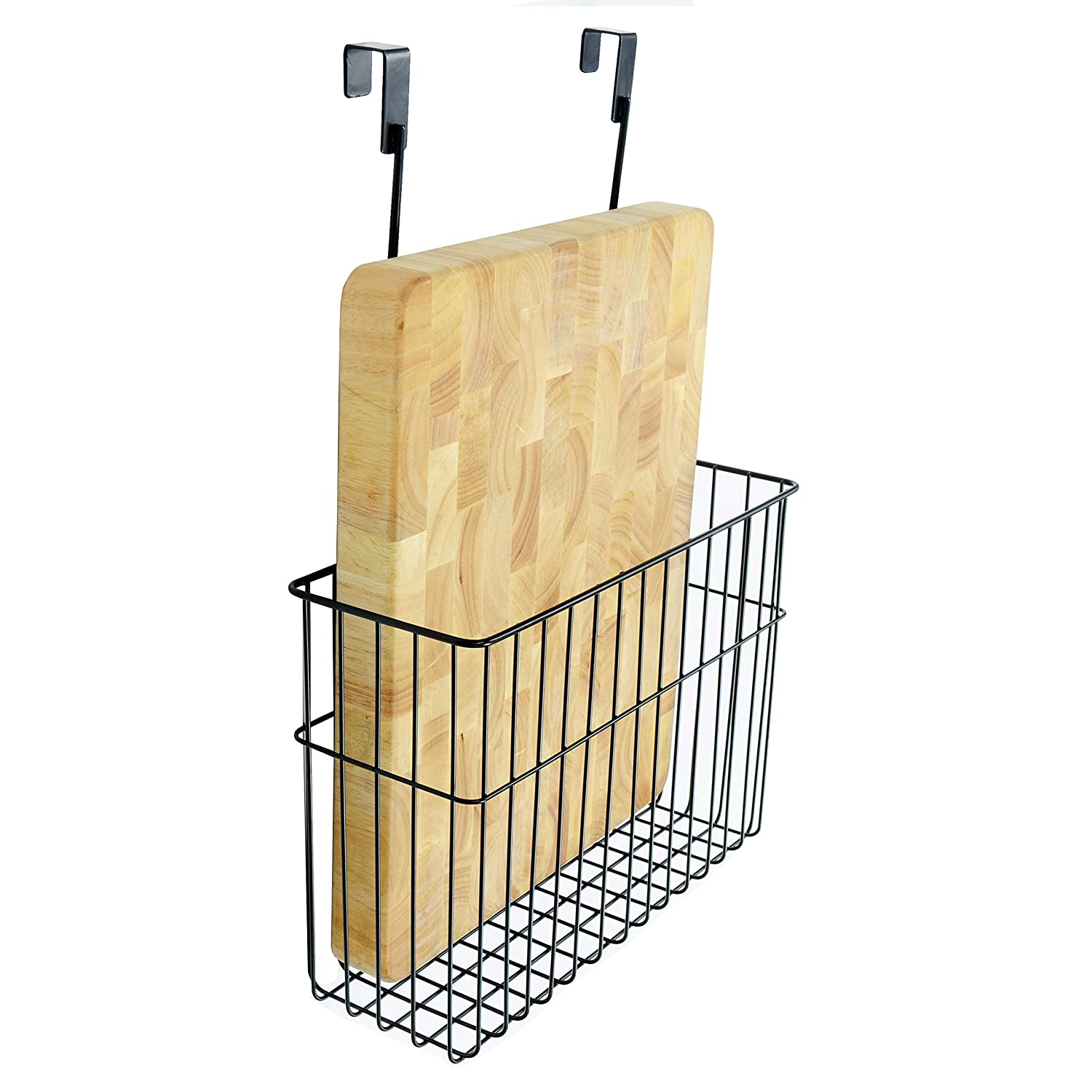 Over The Cabinet Basket Amazoncom Neat O Over The Cabinet Cutting Board Bakeware