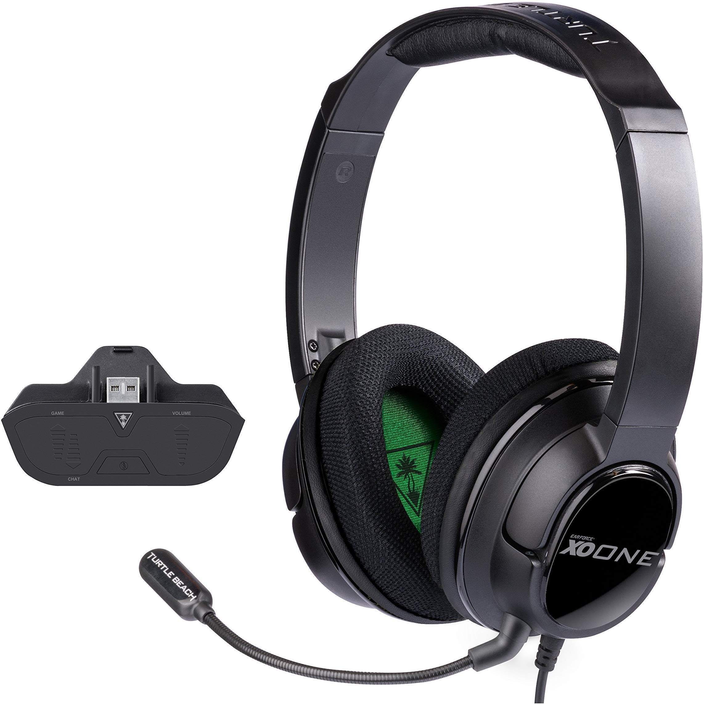 Turtle Beach - Ear Force XO One Amplified Gaming Headset and Headset Audio Controller- Xbox One by Turtle Beach