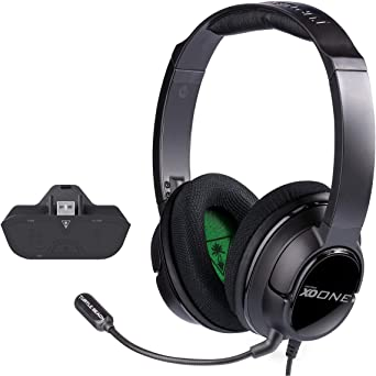 Amazon Com Turtle Beach Ear Force Xo One Amplified Gaming Headset And Headset Audio Controller Xbox One Video Games