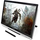 Huion GT-220 v2 Pen Display 21.5 Inch IPS Tablet Monitor with Enhanced Linearity and Accurate Cursor Positioning (Silver)