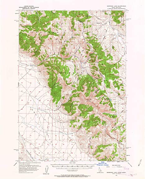 889357d9e85a Amazon.com : YellowMaps Morrison Lake MT topo map, 1:62500 Scale, 15 ...