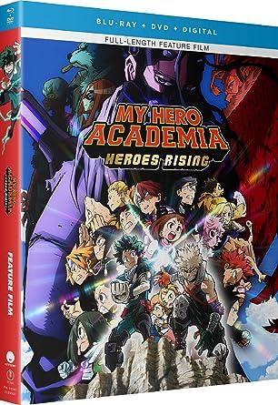 Amazon Com My Hero Academia Heroes Rising Blu Ray Justin Briner Clifford Chapin David Matranga Luci Christian Ricco Fajardo Movies Tv