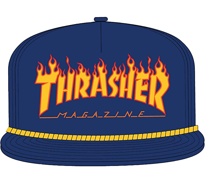 Thrasher Flame Rope Snapback at Amazon Men s Clothing store  c0d0555e0615