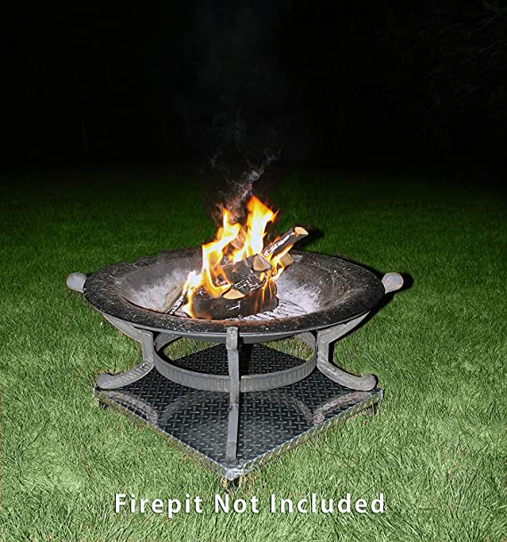 Deck Defender Grass Guard Fire Pit Heat Shield New Amazon De Garten