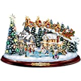 Thomas Kinkade And To All A Good Night Christmas Sculpture by The Bradford Exchange
