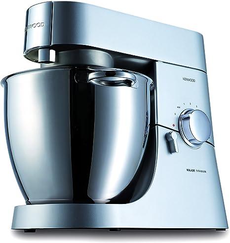 Kenwood Robot de cocina KMM060, 1500 W, 6.7 litros, Acero Inoxidable^Aluminio, Plata: Amazon.es: Hogar