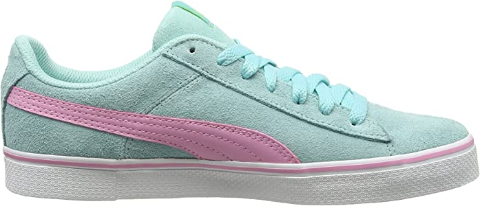 116eb266fd1 Unisex Kids 1948 Vulc Jr Low-Top Sneakers Black Blue. Puma Unisex Kids 1948  Vulc Jr Low-Top Sneakers Aruba Blue-Prism Pink 10